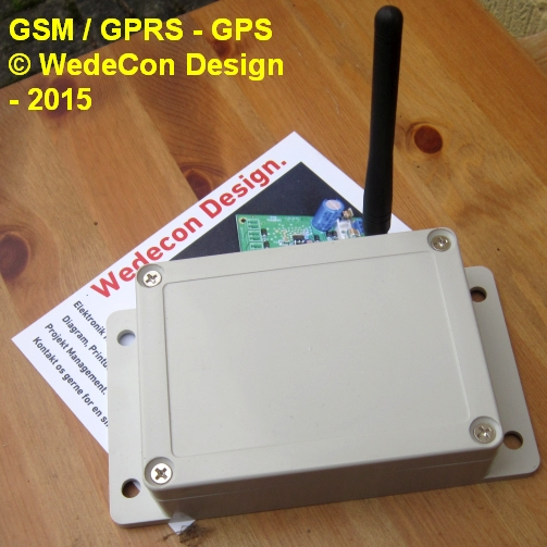 GSM Control Kontrol alarm electronics elektronikudvikling